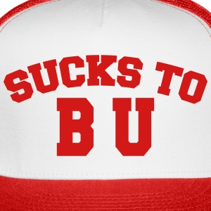 Sucks to B U Cap 2 Tone - Trucker Cap