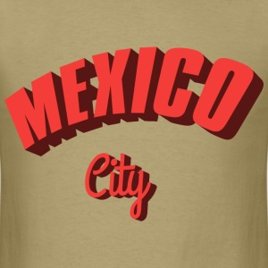mexico city red T-Shirts - Men's T-Shirt