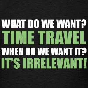 Time Travel - Men's T-Shirt