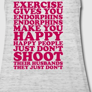 Exercise Gives You Endorphins (Flowy Tank Top) - Women's Flowy Tank Top by Bella