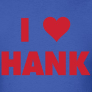 I LOVE HANK Lundqvist - Men's T-Shirt