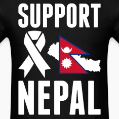 SUPPORT NEPAL - Earthquake In Nepal T-Shirts