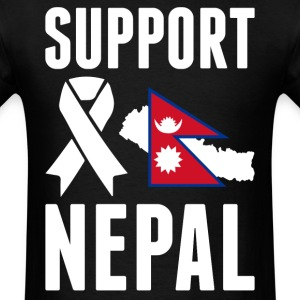 SUPPORT NEPAL - Earthquake In Nepal T-Shirts - Men's T-Shirt