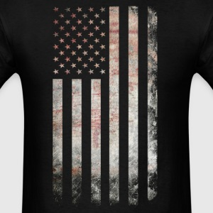 Vintage USA Flag T-Shirts - Men's T-Shirt