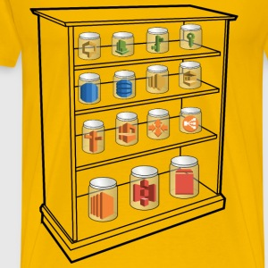 AWS Services Shelf - Men's Premium T-Shirt