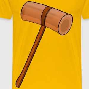 Wooden mallet - Men's Premium T-Shirt