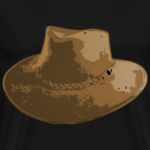 aussie hat 01 - Men's Premium T-Shirt