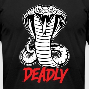 Cobra - Deadly - Men's T-Shirt by American Apparel
