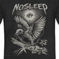 Design ~ NoSleep shirt - heathered black