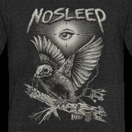 Design ~ NoSleep shirt - heathered black
