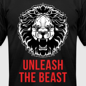 Unleash The Beast - Men's T-Shirt by American Apparel