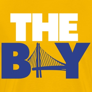 The Bay Yellow Shirt - Men's Premium T-Shirt