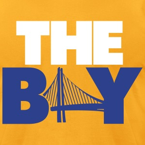 The Bay Yellow Shirt - Men's T-Shirt by American Apparel