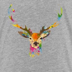 Watercolor deer Kids' Shirts - Kids' Premium T-Shirt