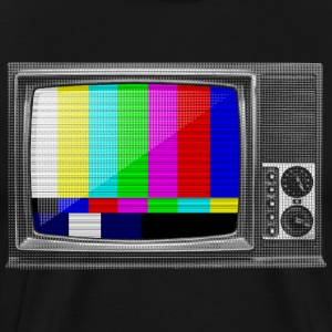 Test Pattern TV T-Shirts - Men's Premium T-Shirt