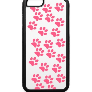 Pink PawPrints Accessories - iPhone 6/6s Rubber Case