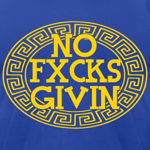 no fvcks giving tees - Men's T-Shirt by American Apparel