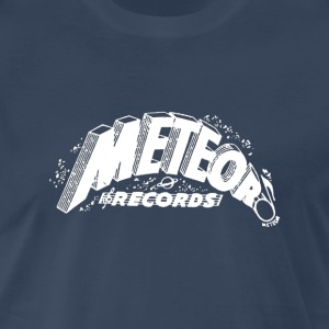 Meteor Records T-shirt - White Logo - Men's Premium T-Shirt