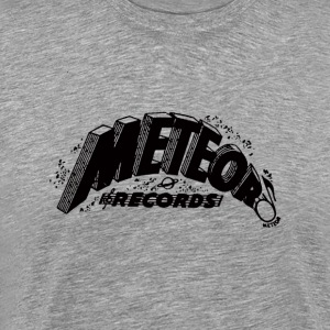 Meteor Records T-shirt - Black Logo - Men's Premium T-Shirt