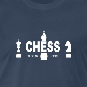 Chess Records T-shirt - White Logo - Men's Premium T-Shirt
