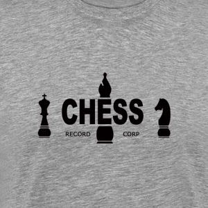 Chess Records T-shirt - Black Logo - Men's Premium T-Shirt