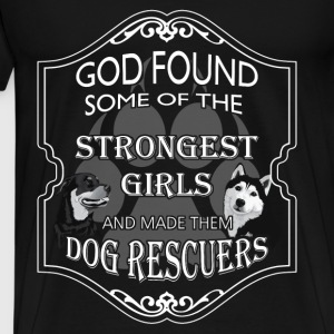 Animal rescue T-shirt - Dog rescuers - Men's Premium T-Shirt