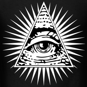 illuminati eye of providence T-Shirts - Men's T-Shirt