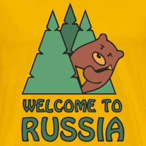 welcome to russia T-Shirts - Men's Premium T-Shirt