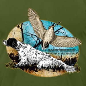 setter woodcock 2015 T-Shirts - Men's T-Shirt by American Apparel