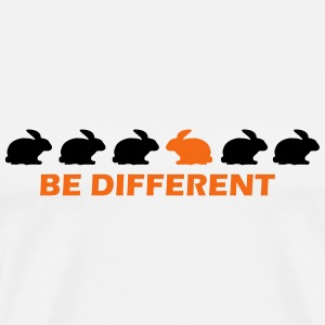 be different bunny T-Shirts - Men's Premium T-Shirt