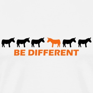 be different donkey T-Shirts - Men's Premium T-Shirt