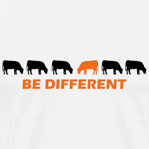 be different cow T-Shirts - Men's Premium T-Shirt