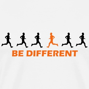 be different runner T-Shirts - Men's Premium T-Shirt