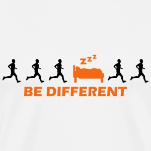 be different sleeping T-Shirts - Men's Premium T-Shirt