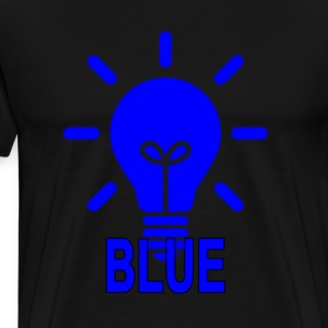 light_it_up_blue_the_autism_awareness - Men's Premium T-Shirt