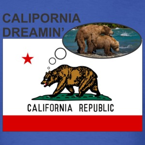 Calipornia Dreamin' T-Shirts - Men's T-Shirt