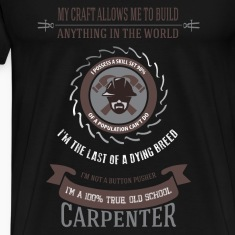 Carpenter T-shirt - I am carpenter
