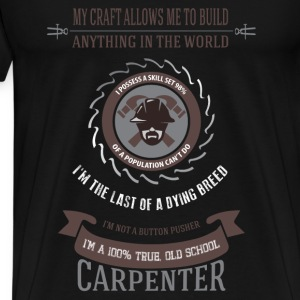 Carpenter T-shirt - I am carpenter - Men's Premium T-Shirt