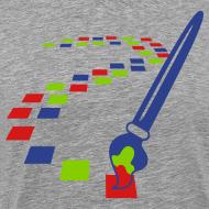 Design ~ Digital Art Pixel Brush (Men's Shirt)