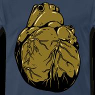Design ~ Metallic Heart Of Gold (Men's Shirt)