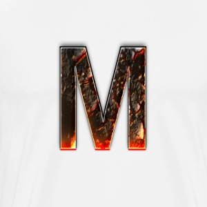 Large M Logo T-Shirts - Men's Premium T-Shirt