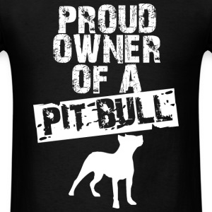 PITBULL OWNER MEN T-SHIRT - Men's T-Shirt