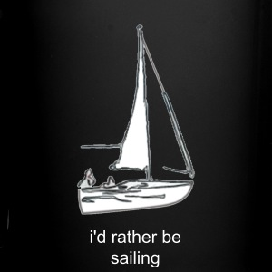 i'd rather be sailing mug - Full Color Mug