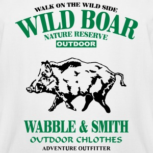 Wild Boar T-Shirts - Men's Tall T-Shirt