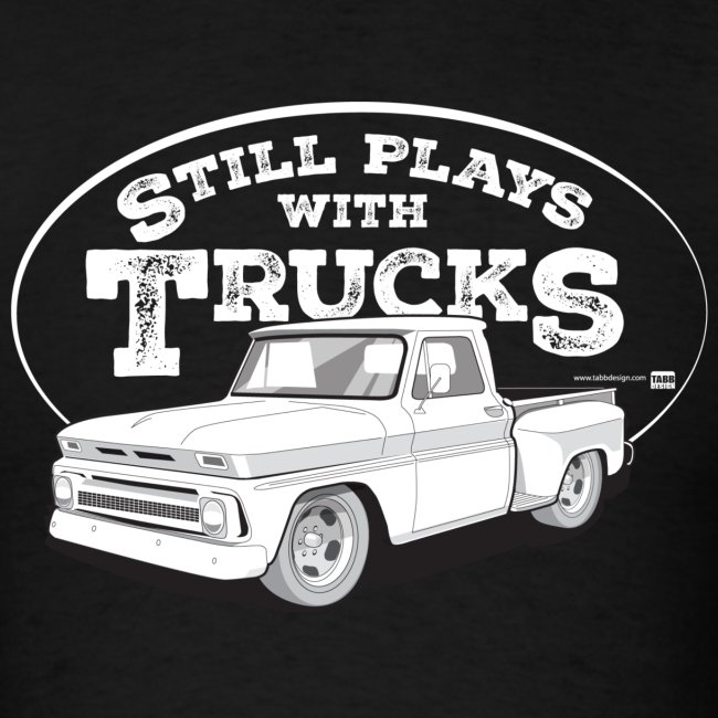 64-66 C10 Stepside Tee (White graphic)