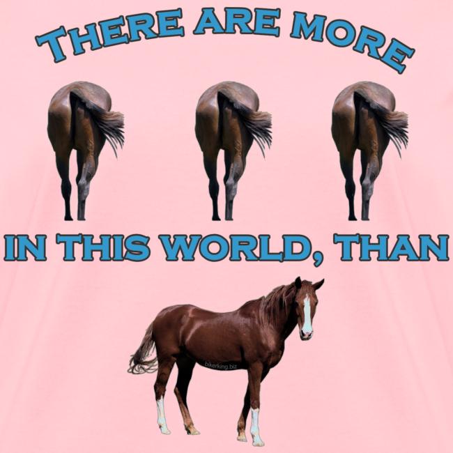 Women's T Front Horses A$$
