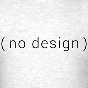 no design - Men's T-Shirt