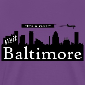 Visit Baltimore - It's a riot! - Men's Premium T-Shirt