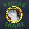 Reggae Shark - Men's (AA, more colors available) - Men's T-Shirt by American Apparel