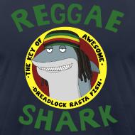 Design ~ Reggae Shark - Men's (AA, more colors available)